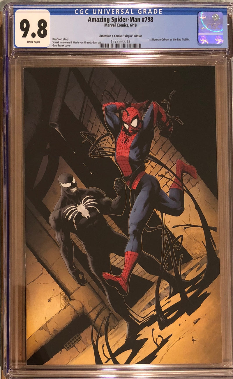 Amazing Spider-Man #798 Dimension X C2E2 Virgin Exclusive CGC 9.8 - First appearance of the Red Goblin!