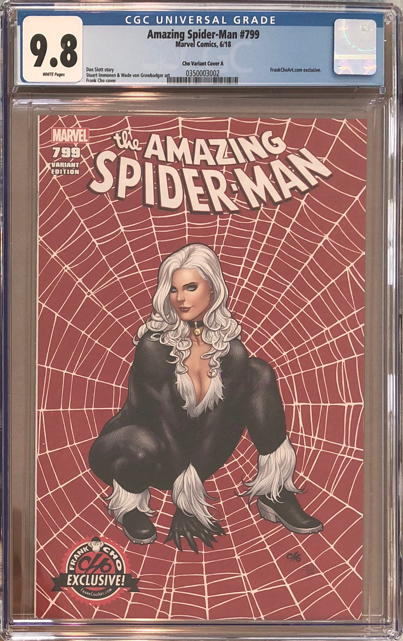 Amazing Spider-Man #799 Frank Cho Exclusive CGC 9.8