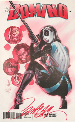 Domino #1 J. Scott Campbell 1:50 Retailer Incentive - SIGNED