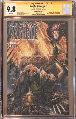 Hunt For Wolverine #1 Tyler Kirkham Exclusive CGC 9.8 SS