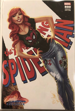 "Amazing Spider-Man #800 J. Scott Campbell Edition B ""Mary Jane"" Exclusive"