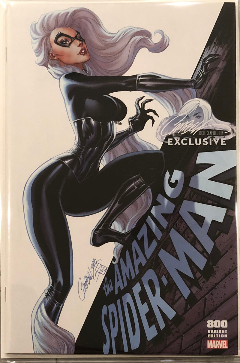 "Amazing Spider-Man #800 J. Scott Campbell Edition C ""Black Cat"" Exclusive"