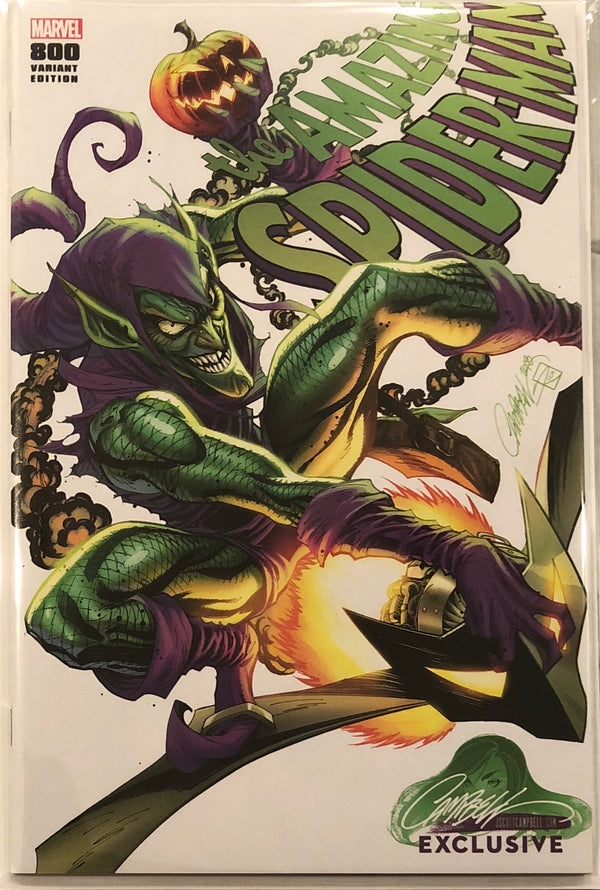 "Amazing Spider-Man #800 J. Scott Campbell Edition E ""Green Goblin"" Exclusive"
