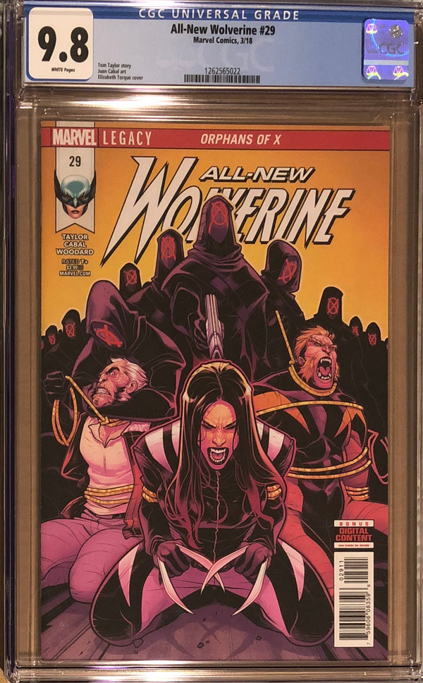 All-New Wolverine #29 CGC 9.8