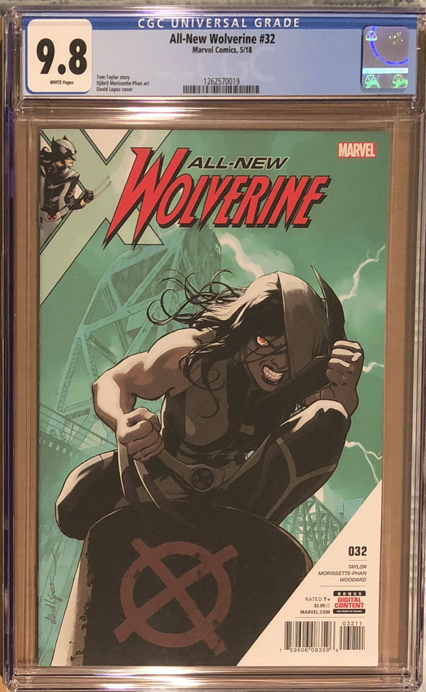 All-New Wolverine #32 CGC 9.8