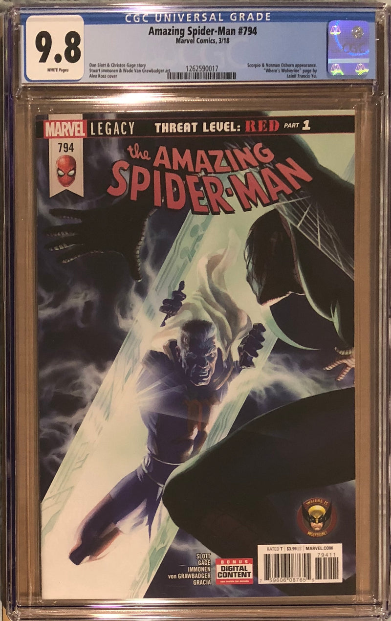Amazing Spider-Man #794 CGC 9.8