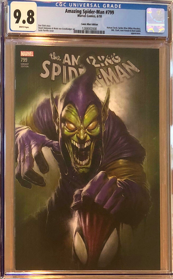Amazing Spider-Man #799 Lucio Parrillo Comic Mint Exclusive CGC 9.8