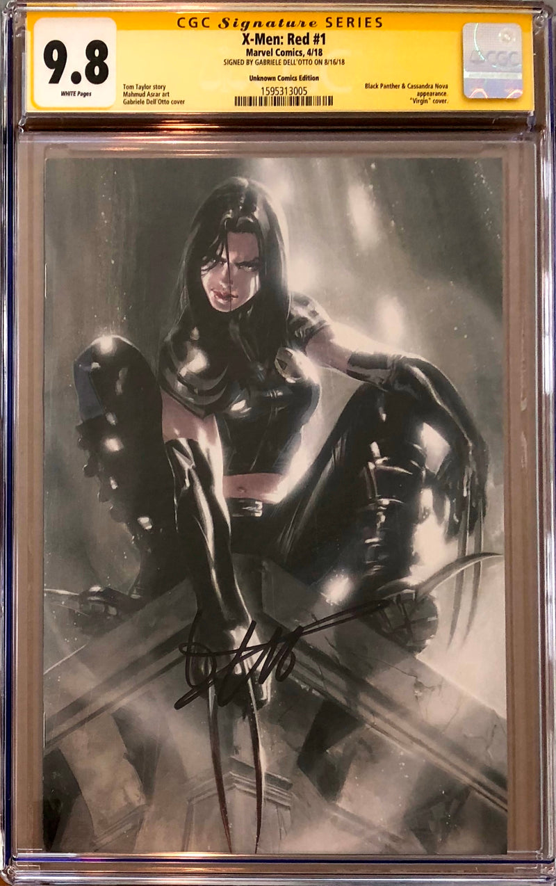 X-Men Red #1 Dell'Otto Virgin Variant CGC 9.8 SS
