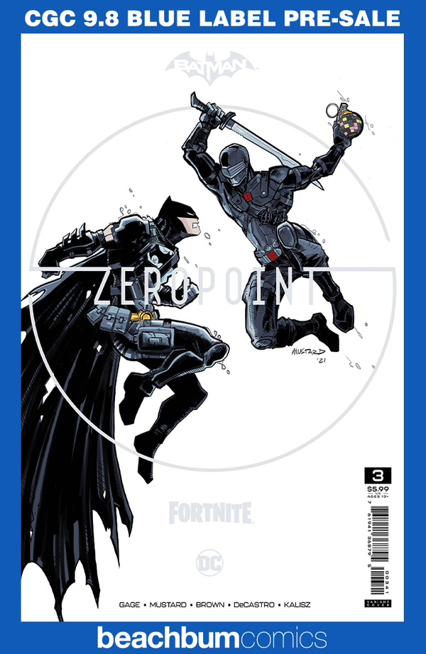 Batman/Fortnite: Zero Point #3 Premium Variant CGC 9.8