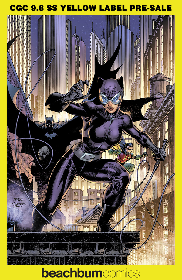 Catwoman 80th Anniversary 100 Page Super Spectacular #1 Jim Lee 2000s Variant CGC 9.8 SS