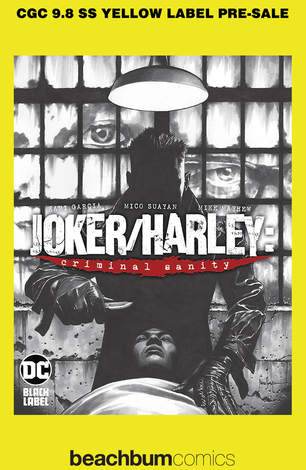 Joker/Harley: Criminal Sanity #1 Suayan Variant Cover DC Black Label CGC 9.8 SS