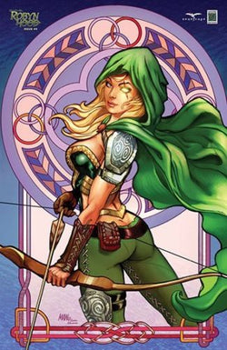Robyn Hood #4 CS Moore Nice Exclusive