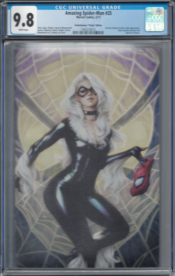 Amazing Spider-Man #25 ComicXposure Artgerm Virgin Edition CGC 9.8