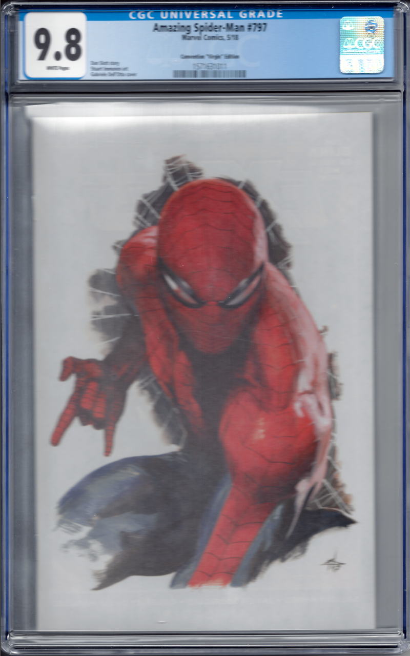 Amazing Spider-Man #797 Dell'Otto Fan Expo Virgin Variant CGC 9.8