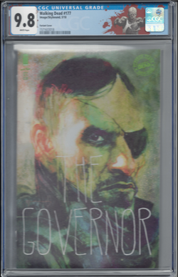 The Walking Dead #177  Sienkiewicz Variant Custom Label CGC 9.8 - First Sebastian