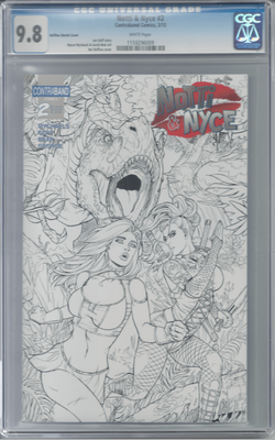 Notti & Nyce #2 Ruffino Sketch Exclusive CGC 9.8