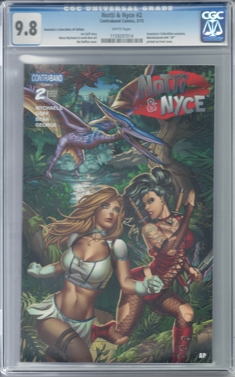 Notti & Nyce #2 Anastasia's Collectibles AP Exclusive CGC 9.8