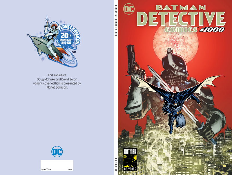 Detective Comics #1000 Doug Mahnke Planet Comicon Exclusive