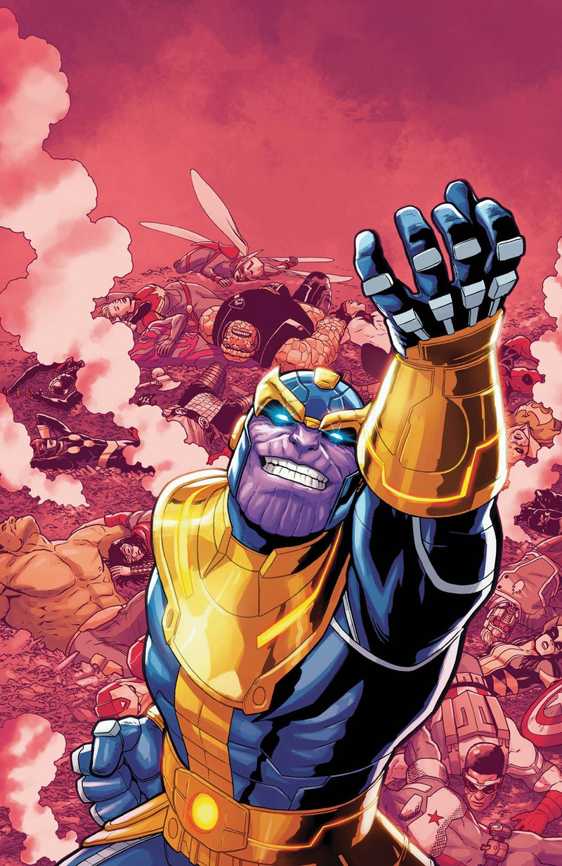 Thanos #13 Fifth Printing Virgin Exclusive