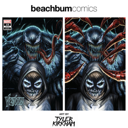 Venom #19 Tyler Kirkham BeachBum Comics Regular/Virgin Exclusive Set