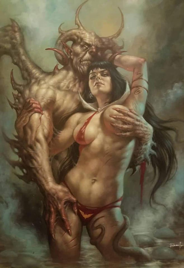 Vampirella #1 Parrillo SDCC Exclusive