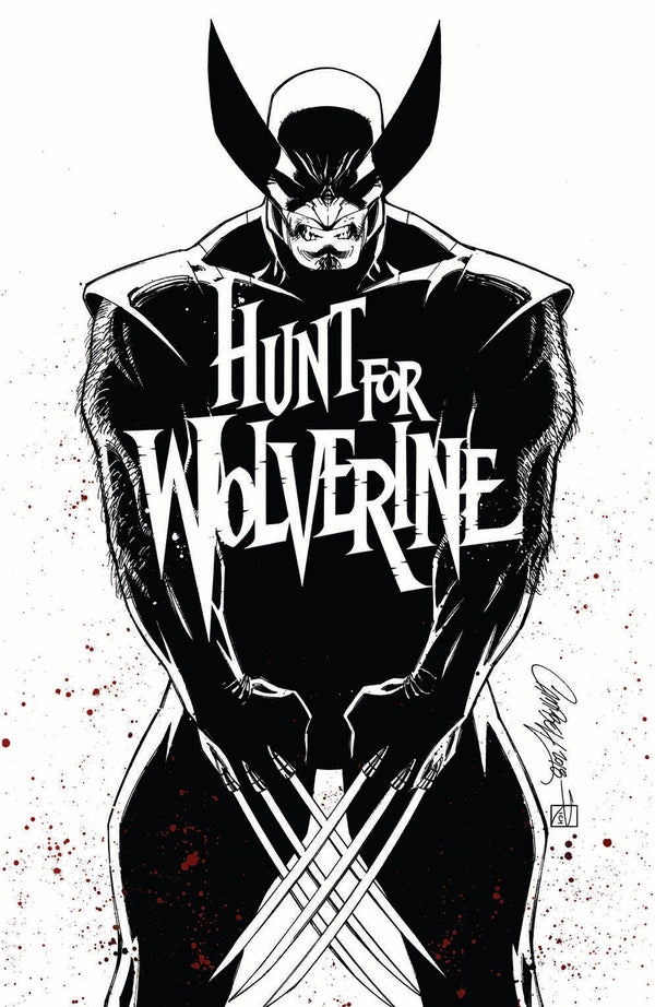 "Hunt For Wolverine #1 J. Scott Campbell Calgary Expo ""White"" Exclusive"