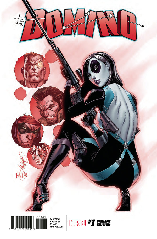Domino #1 J. Scott Campbell 1:50 Retailer Incentive