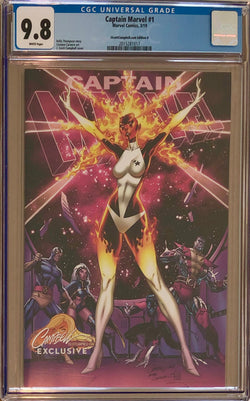 "Captain Marvel #1 J. Scott Campbell Edition D ""Binary"" Exclusive CGC 9.8"