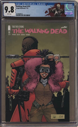 "The Walking Dead #181 CGC 9.8 with ""Walker"" Custom Label"