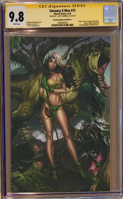 "Uncanny X-Men #12 J. Scott Campbell Edition C ""Rogue"" Virgin Exclusive CGC 9.8 SS"