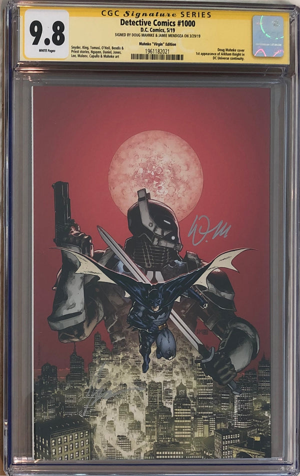 Detective Comics #1000 Doug Mahnke Virgin Exclusive CGC 9.8 SS