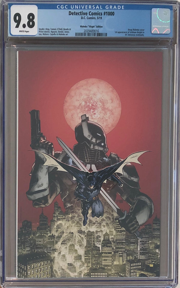 Detective Comics #1000 Doug Mahnke Virgin Exclusive CGC 9.8