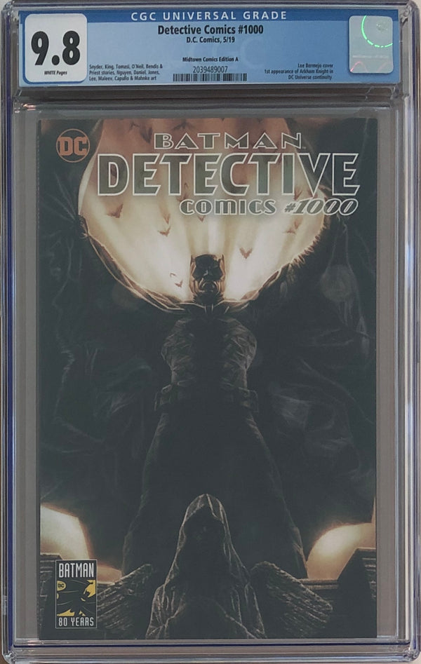 Detective Comics #1000 Lee Bermejo Exclusive CGC 9.8