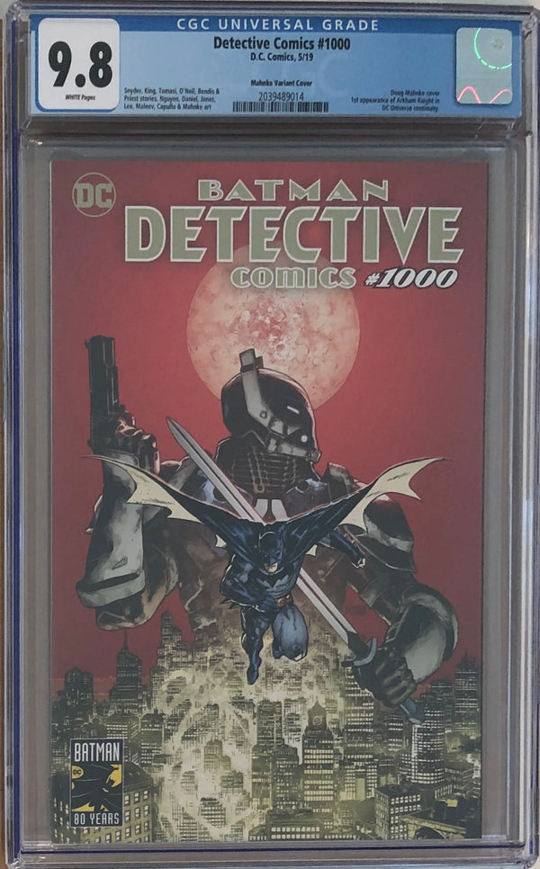 Detective Comics #1000 Doug Mahnke Planet Comicon Exclusive CGC 9.8