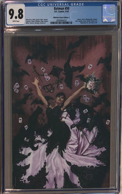 Batman #50 Midtown Comics Edition C Joe Jusko Virgin Variant CGC 9.8