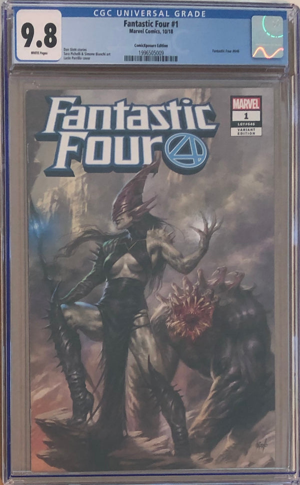 Fantastic Four #1 ComicXposure Edition Lucio Parrillo Exclusive CGC 9.8