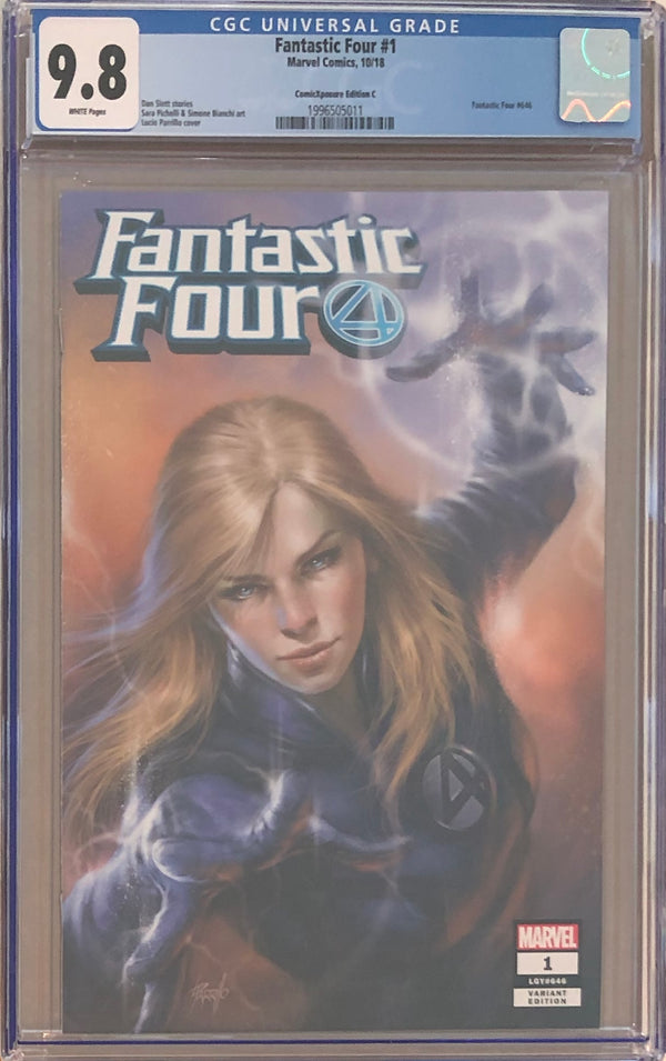Fantastic Four #1 ComicXposure Edition C Lucio Parrillo Exclusive CGC 9.8