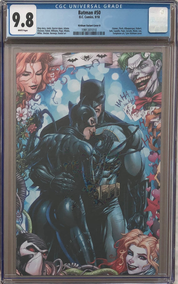 Batman #50 Tyler Kirkham Virgin Variant Cover B CGC 9.8