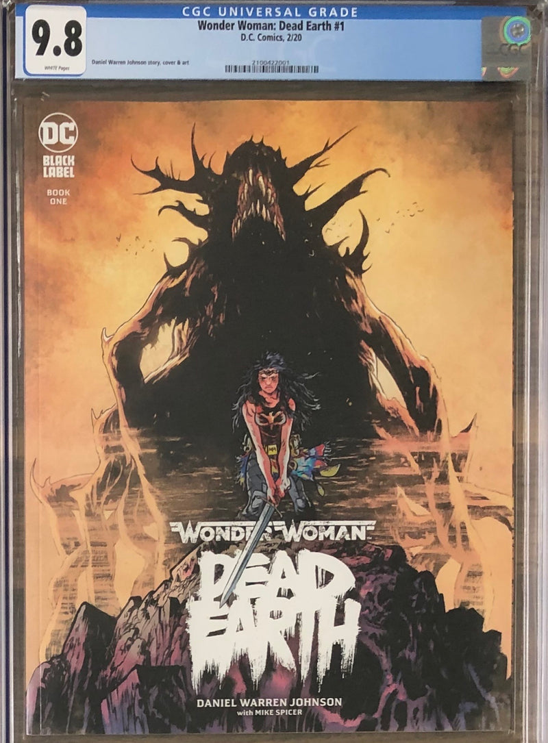 Wonder Woman: Dead Earth #1 DC Black Label CGC 9.8