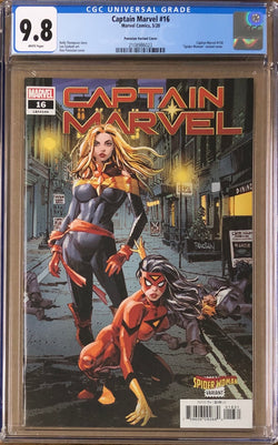 "Captain Marvel #16 Panosian ""Spider-Woman"" Variant CGC 9.8"