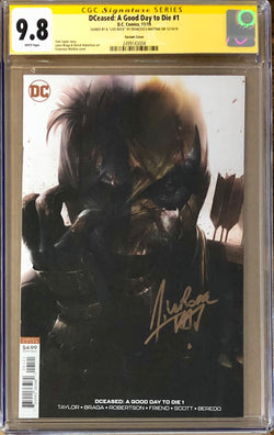 DCeased: A Good Day to Die #1 Mattina Variant CGC 9.8 SS