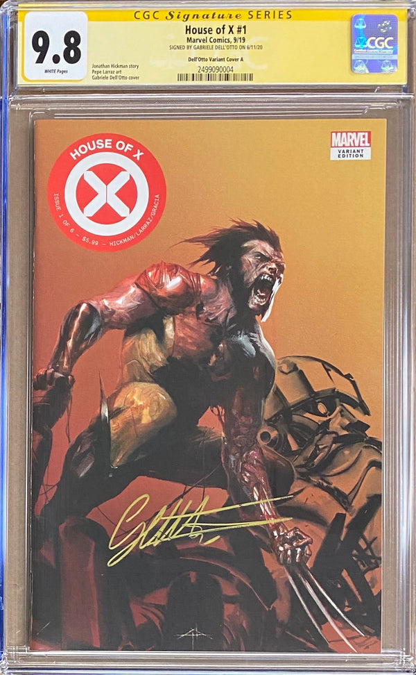 House of X #1 Fan Expo Boston Dell'Otto Con Exclusive CGC 9.8 SS