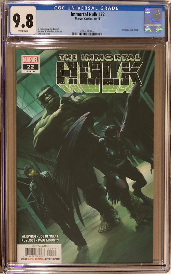 Immortal Hulk #22 CGC 9.8