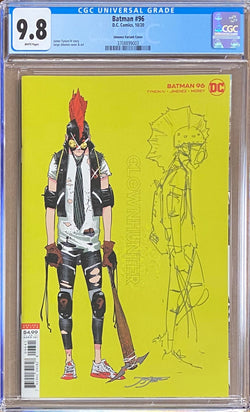 Batman #96 Jimenez 1:25 Character Variant CGC 9.8 - First Appearance of Clownhunter