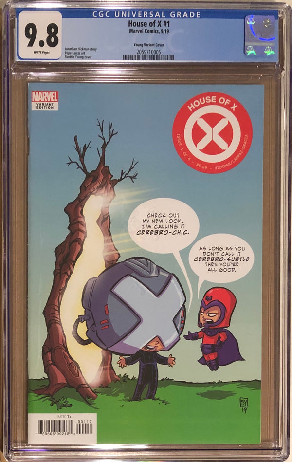 House of X #1 Young Variant CGC 9.8
