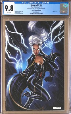 House of X #5 J. Scott Campbell NYCC Glow in the Dark Exclusive CGC 9.8
