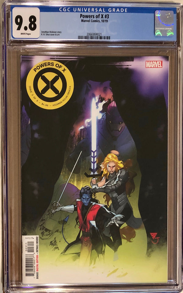 Powers of X #3 Secret Variant CGC 9.8