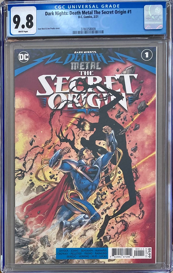 Dark Nights Death Metal: The Secret Origin #1 CGC 9.8
