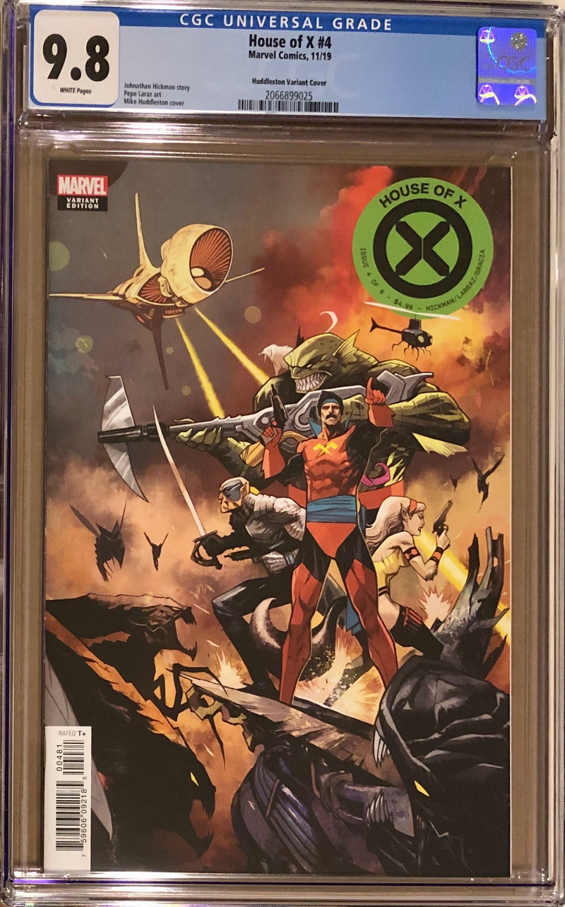 House of X #4 Huddleston 1:10 Retailer Incentive Variant CGC 9.8