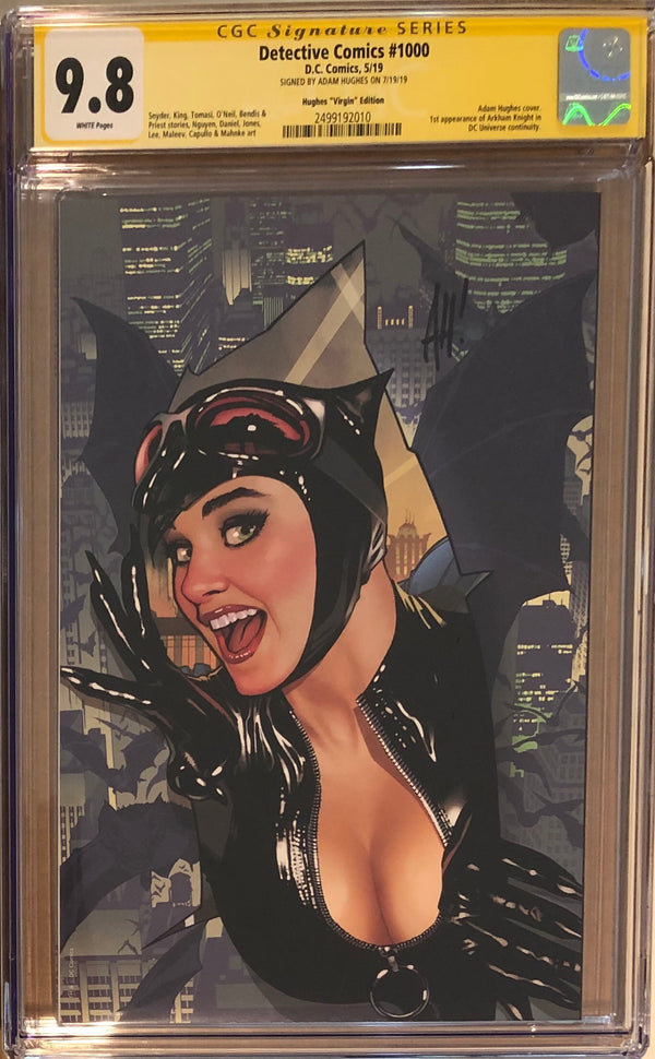 Detective Comics #1000 Adam Hughes Virgin Exclusive CGC 9.8 SS